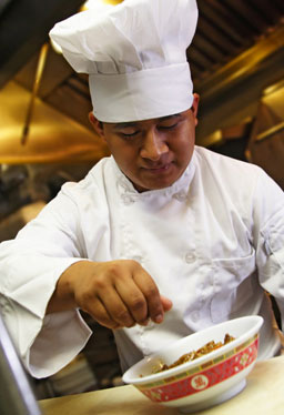 fine Chinese cuisine - combining Peking, Szechuan and Cantonese cooking with quality produce